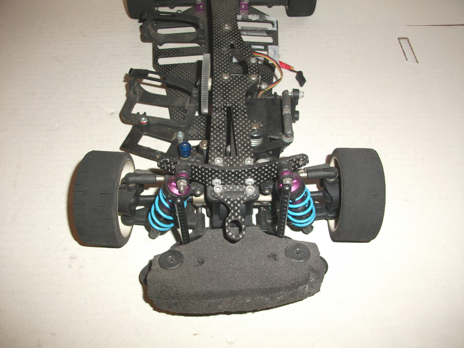schumacher sst mission 1 10 4wd rc touring car chassis ebay. Black Bedroom Furniture Sets. Home Design Ideas
